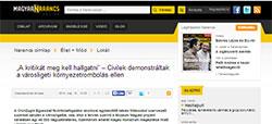 Magyar Narancs cikke