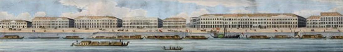A pesti Duna-part épületegyüttese