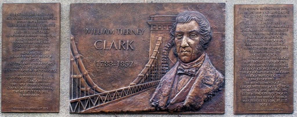 Clark emléktábla