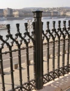 Öntöttvas kerítés