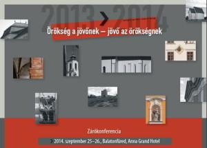 Örökség - zárókonferencia @ Balatonfüred, Anna Grand Hotel | Balatonfüred | Veszprém | Magyarország
