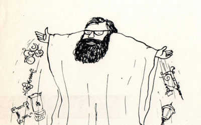 Fekete szakáll szellemeanno a '80-as évek