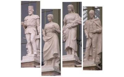 A Keleti pályaudvar eltűnt szobrai…