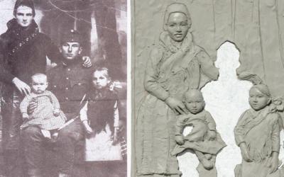 Világháborús emlékmű Vácrátóton