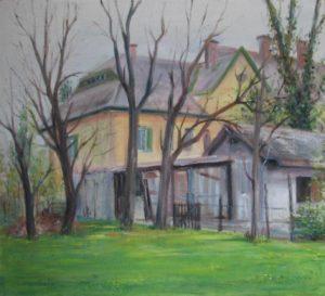 Solymos Tamás Géza festménye
